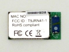 Bluetooth 2 1 class 1 surface mount module (HCI over H4 UART